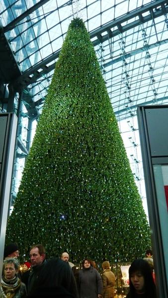 柏林火車站的聖誕樹