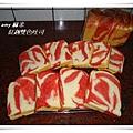 紅趜雙色吐司09
