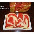 紅趜雙色吐司10