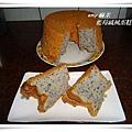 藍莓戚風蛋糕12
