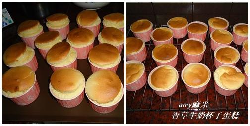 香草牛奶杯子蛋糕04