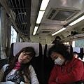 從大阪/京都出發到東舞鶴真的是很遠! 一整個累翻~