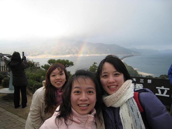 哇~ 有彩虹說!