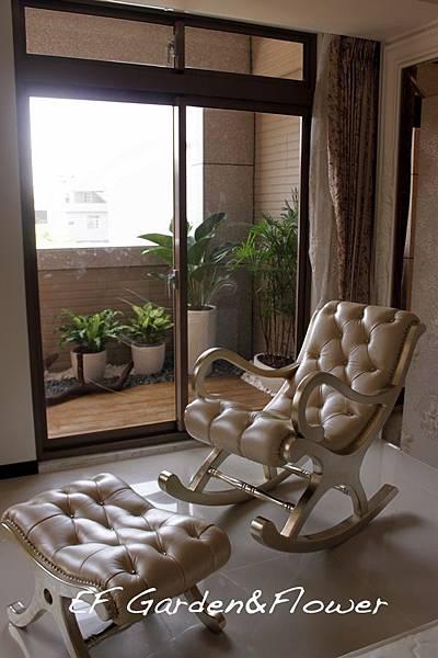 陽台盆栽設計