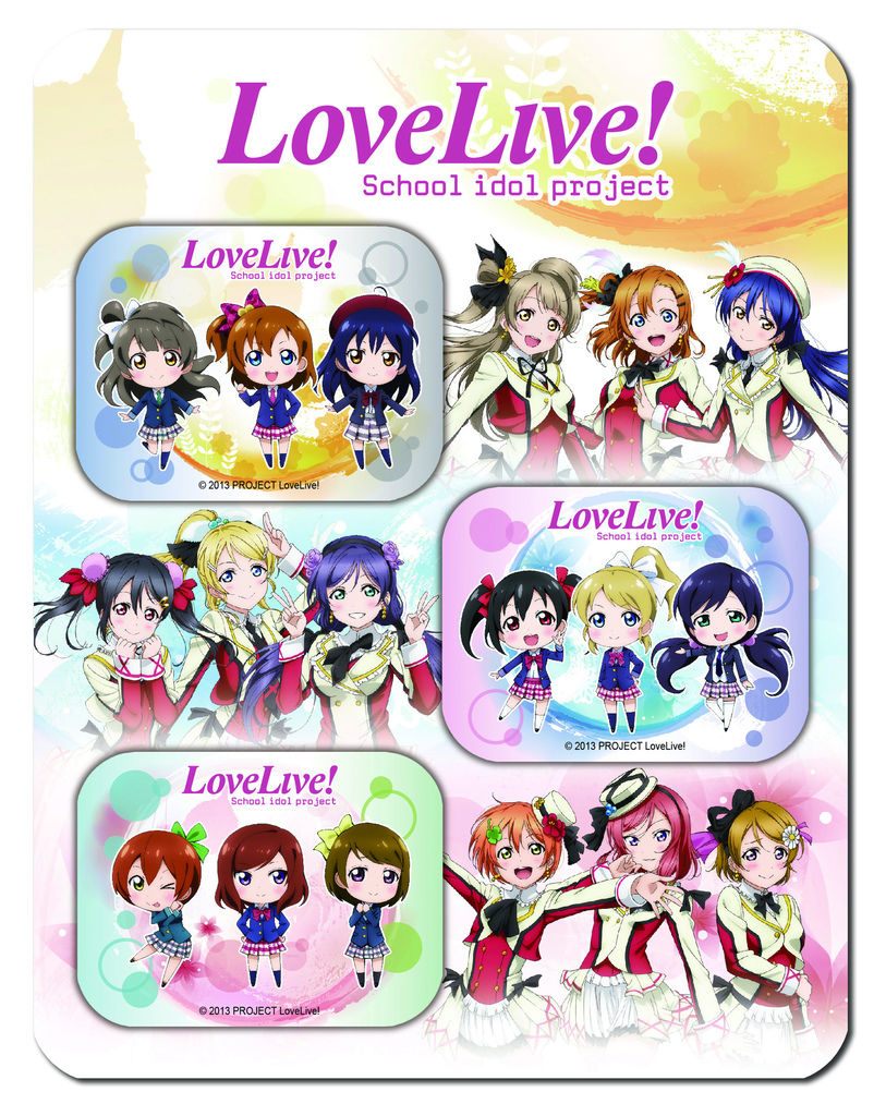 LoveLive!螢幕擦貼