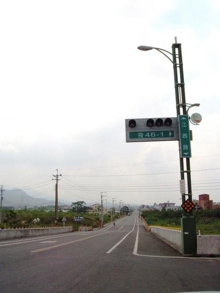 江西路(投46-1在此左轉)