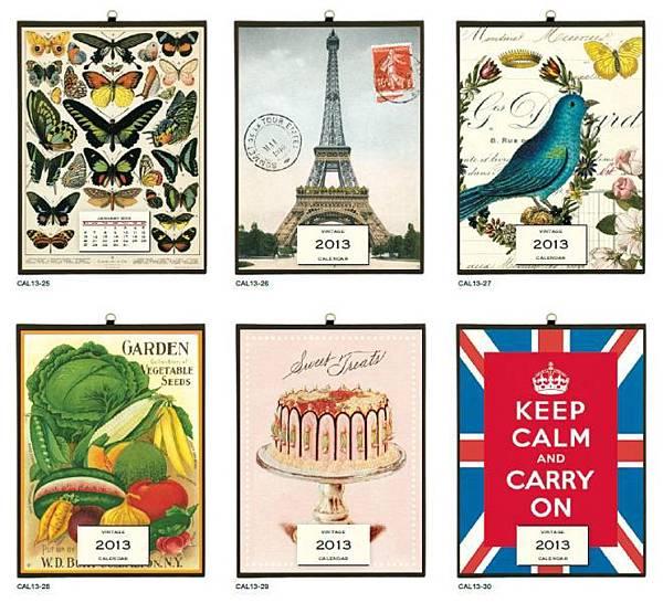 2013 Vintage Calendar.JPG