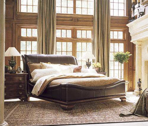 有點摩登的古典傢俱床