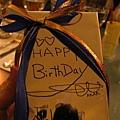 這是老板娘送給壽星的禮物唷