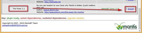 Mantis Install Poser