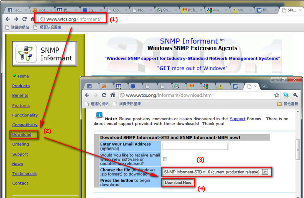 Download SNMP Informant
