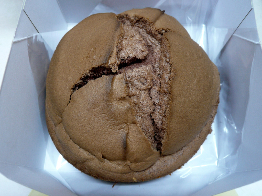 巧克力口味-特美香布丁蛋糕
