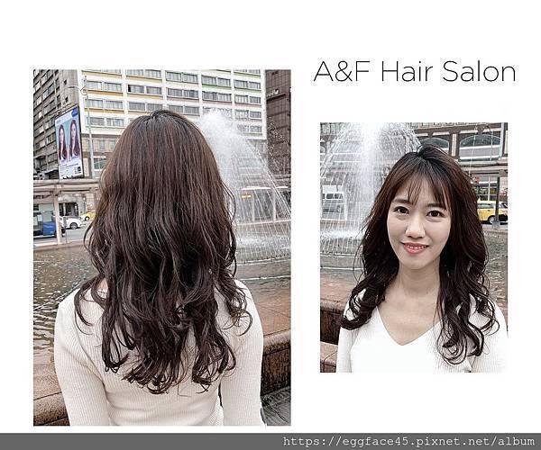 A&F Hair Salon 設計師Nelson燙髮