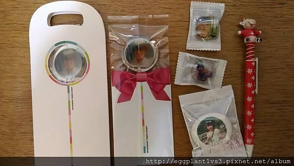 糖話 客製化相片糖-生日糖開箱