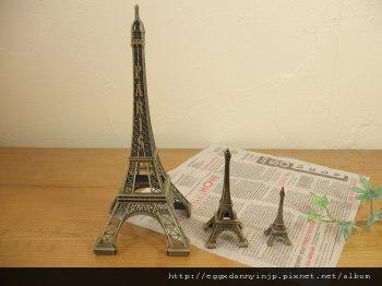 日本超可愛雜貨-艾菲爾鐵塔造型擺飾-日本大阪在地代買、代購、代標-Egg X Danny in jp