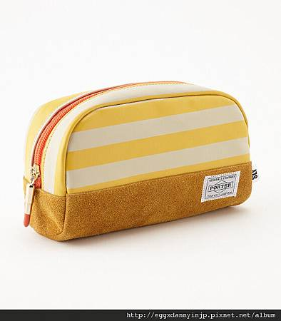 PORTER×SLY聯名 條紋、素色化妝包(日本大阪在地代買、代購、代標-Egg X Danny in jp)