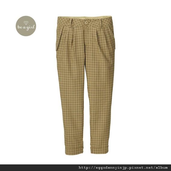 gu格紋窄管褲-日本大阪在地代買、代購、代標-Egg X Danny in jp