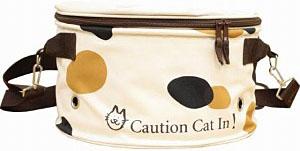 寵物用品~圓桶型貓咪外出袋 (三毛花色)-日本大阪在地代買、代購、代標-Egg X Danny in jp