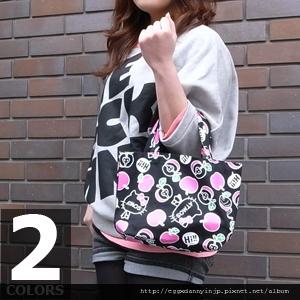 叁月連線 no.29[Hello Kitty蘋果圖案托特包]-日本大阪在地代買、代購、代標-Egg X Danny in jp