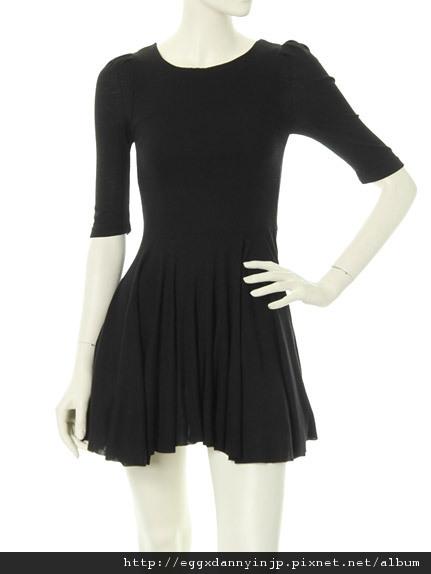 2012春裝~dazzlin泡泡袖連身洋裝=日本大阪在地代買、代購、代標-Egg X Danny in jp