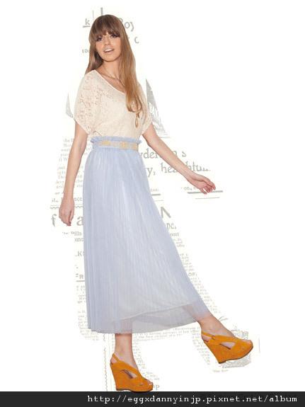 叁月連線 no.53[2012春裝~ROJITA每週限定之3/2 T-SHIRT X 長裙組]=日本大阪在地代買、代購、代標-Egg X Danny in jp