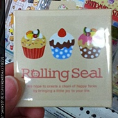 Danny in JP 伍月 no14. 超多圖案的rolling seal~超可愛!!