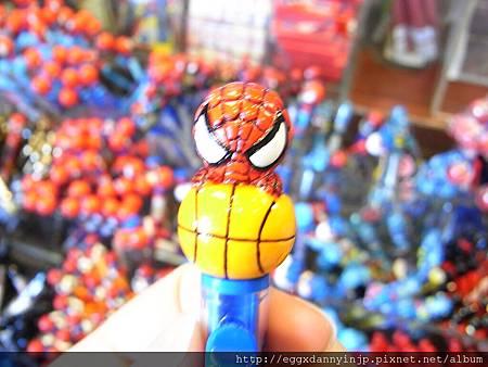 蜘蛛人抱籃球自動鉛筆 250元