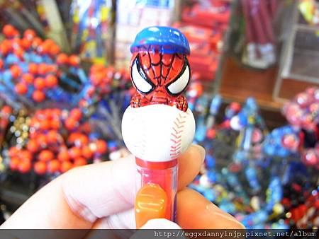蜘蛛人抱棒球自動鉛筆 250元