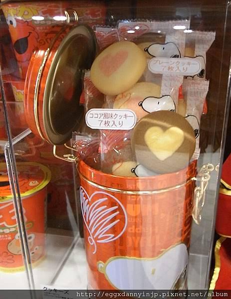 史努比餅乾桶 900元