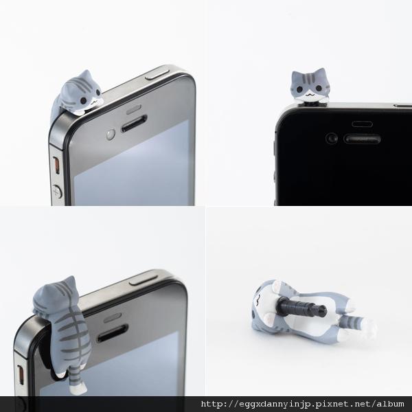 2 neko貓咪造型i phone耳機塞