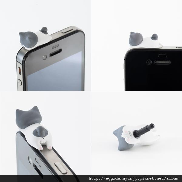 3 neko貓咪造型i phone耳機塞
