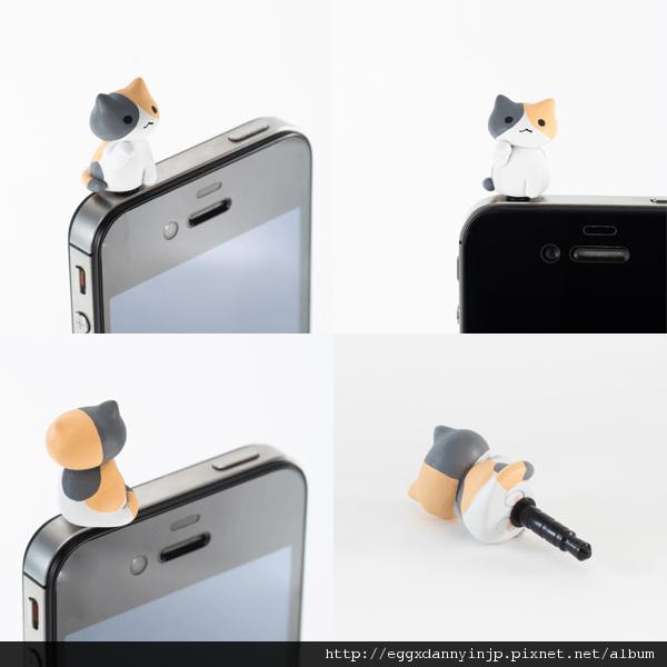 5 neko貓咪造型i phone耳機塞
