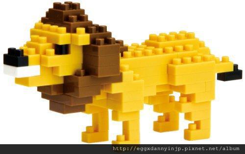 nano block小積木-獅子