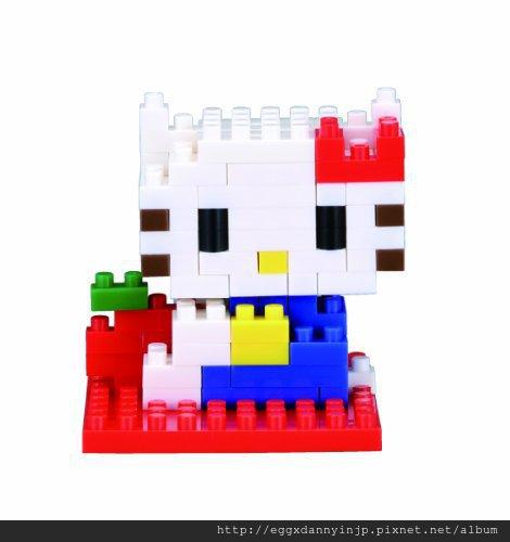 nano block小積木-Hello Kitty