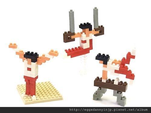 nano block小積木-體操系列