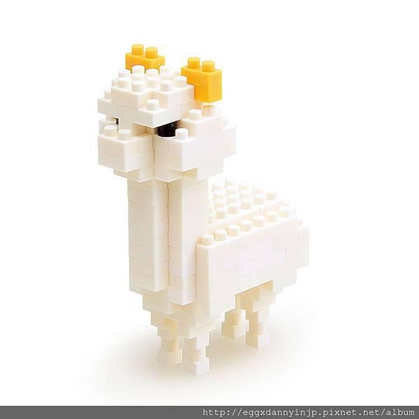 nano block小積木-羊駝