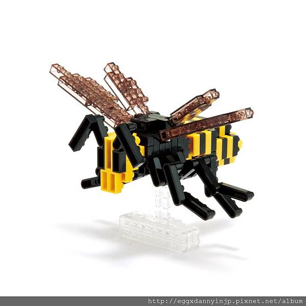 nano block小積木-虎頭蜂