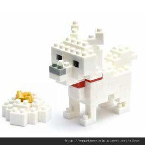 nano block小積木-北海道犬
