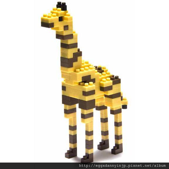 nano block小積木-長頸鹿