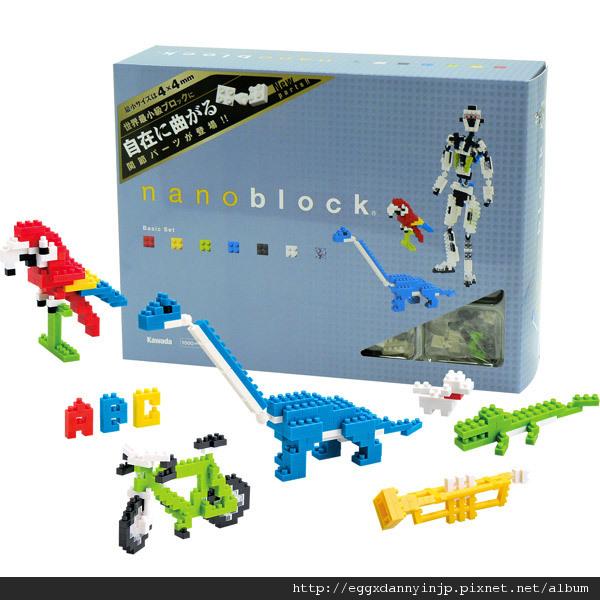 nano block小積木-標準積木組(可彎曲組)