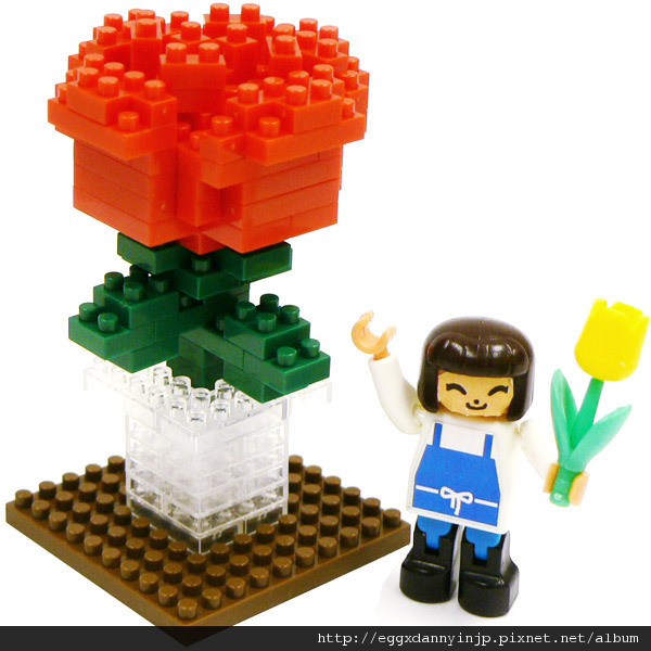 nano block小積木-感謝您