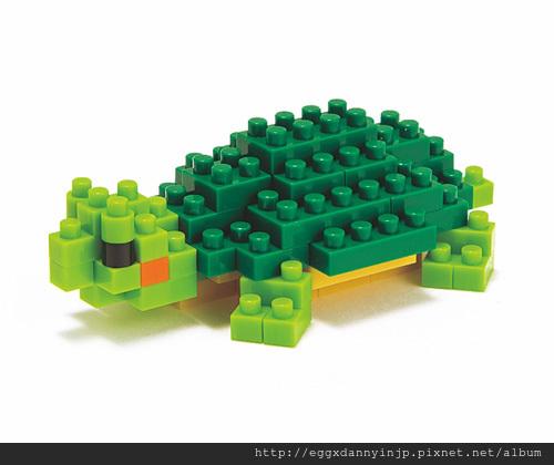 nano block小積木-綠蠵龜