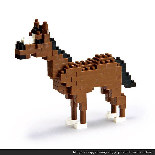 nano block小積木-馬