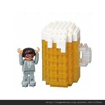 nano block小積木-超大生啤酒