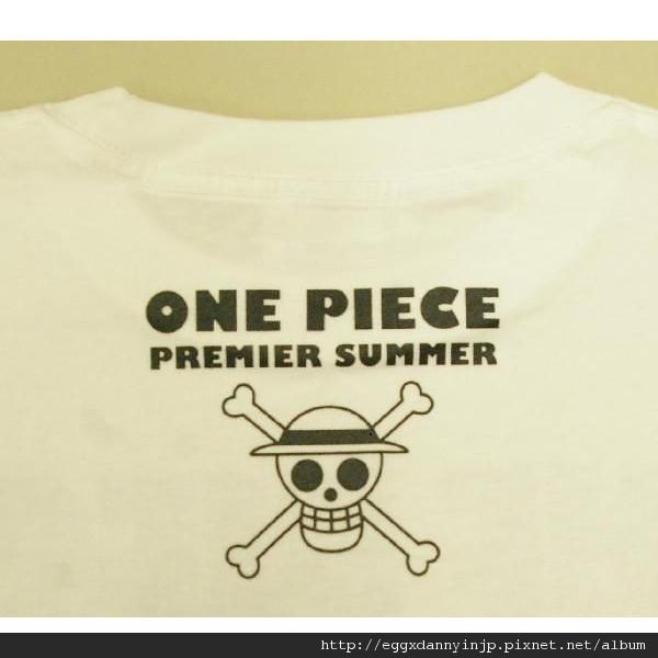 One Pieces航海王Premier Summer T-shirt S~L 白/黑