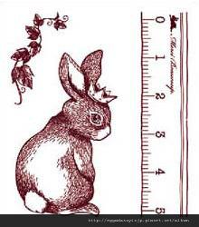 兔子水晶印章260