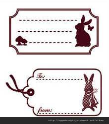 兔子留言水晶章260