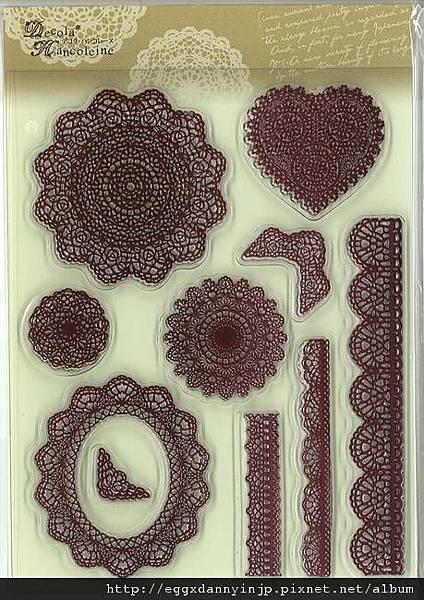 又又一組複雜到不行的花紋框水晶印章890