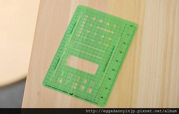 圖案尺(綠)NT.150