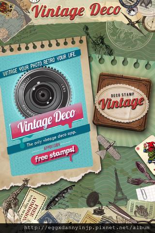 EGGXDANNYINJP-Vintage Deco 文具控必備的懷舊貼紙相片拼貼免費app1